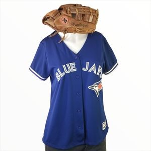 Blue Jay's Jersey Shirt Donaldson 20 with Glove